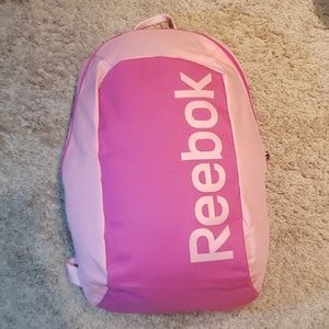 Reebok pink backpack
